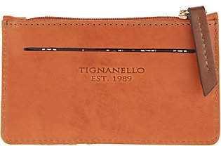 Tignanello Vintage Leather Card Case Wallet