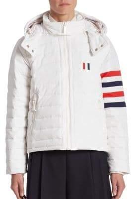 Thom Browne Zip Front Down Jacket
