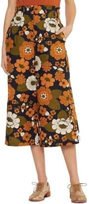 Miss Shop Ivory Flower Culotte