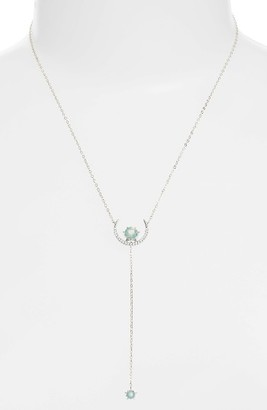 Women's Nadri Wishes Moon Y-Necklace $65 thestylecure.com