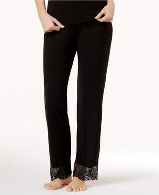Cosabella Minoa Wide-Leg Lace-Trim Pajama Pants MINSW5451