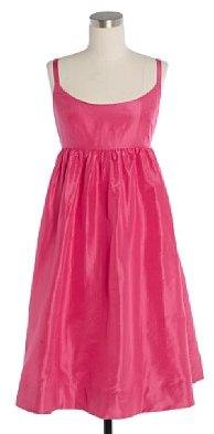 Silk taffeta ballerina dress