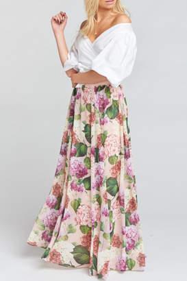 Show Me Your Mumu Misty Maxi Skirt