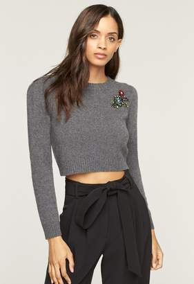 MillyMilly Cashmere Cropped Pin Sweater
