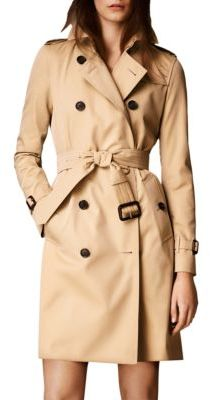 Burberry Kensington Long Heritage Trench Coat $1,895 thestylecure.com