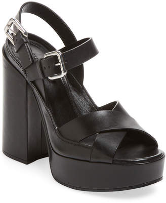b3a4bf5056b7 Jil Sander Ankle Buckle Women s Sandals - ShopStyle