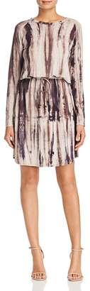 Rob-ert Robert Michaels Tie Dye Cinched Waist Dress