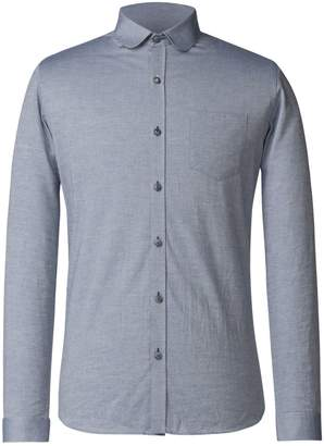 Gibson Men's Blue Penny Round Shirt