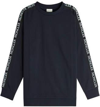 Moncler Logo Tape Cotton Sweatshirt