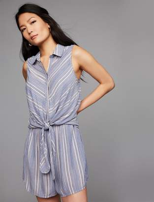 A Pea in the Pod Pull Down Mock Layer Nursing Romper