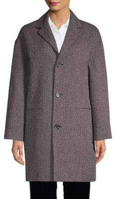 A.P.C. Textured Cotton-Blend Coat