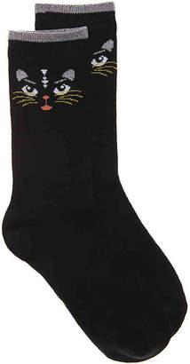 K. Bell Lurex Kitty Crew Socks - Women's