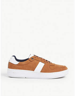 Ted Baker Malonin leather trainers