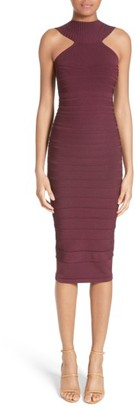 Women's Cushnie Et Ochs Knit High Neck Dress $1,095 thestylecure.com