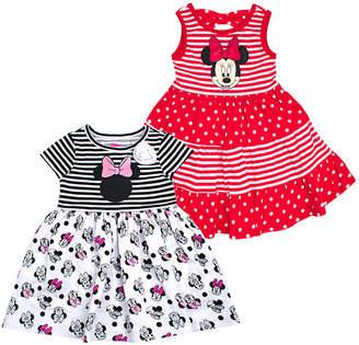 d4057e6a0e44 DISNEY MINNIE MOUSE Disney Sleeveless Minnie Mouse Dress Set - Toddler Girls