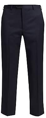 Emporio Armani Men's Navy Wool Trousers