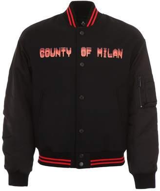 Marcelo Burlon County of Milan Never Sleep Bomber Jacket
