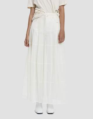 Jil Sander Tiered Mesh Skirt