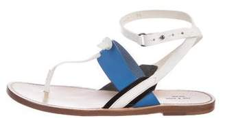 Rag & Bone Leather Thong Sandals