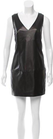 Barbara BuiBarbara Bui Leather Mini Dress
