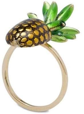 Miu Miu embellished pineapple ring