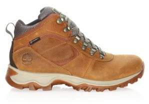 Timberland Men's Mt. Maddsen Mid Leather Boots - Light Brown - Size 13 M