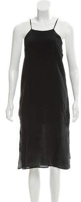 Anine Bing Sleeveless Silk Dress