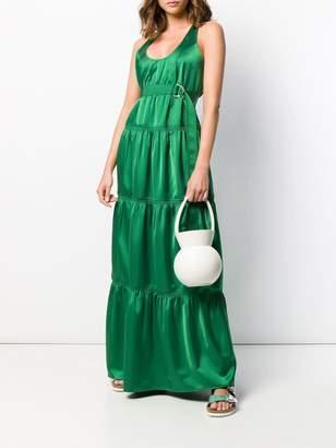 Cédric Charlier panelled maxi dress
