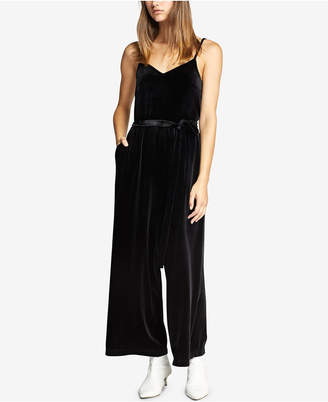 Sanctuary One Night Only Velvet Jumpsuit