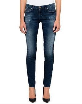 Diesel Gracey Low Rise Super Slim Skinny Jogg Jean