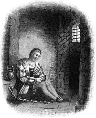 N. Wall Art Import Christopher Columbus 1451-1506). Italian Navigator. Christopher Columbus In A Spanish Prison, His Hands Shackled, Following His Arrest At Santo Domingo In 1500 By Francisco De Bobadillo. Engraving, 1800S. Poster Print by (18 x 24)