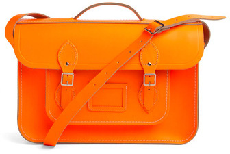 Upwardly Mobile Satchel in Neon Orange - 15