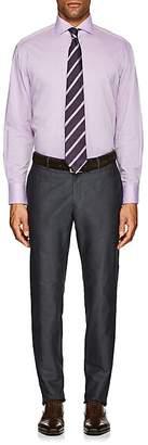 Barneys New York MEN'S TRIM-FIT COTTON DRESS SHIRT