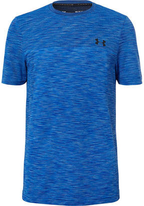 Under Armour Vanish Seamless Mélange Stretch-Mesh T-Shirt