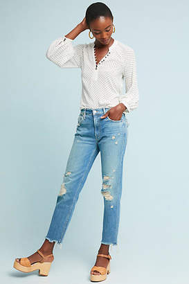 Mother The Cardinal Sinner High-Rise Ankle Jeans