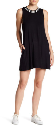 Socialite Stripe Easy Knit Dress $42 thestylecure.com