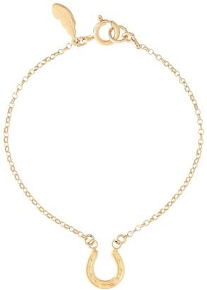 Harry Rocks Gold Horseshoe Bracelet