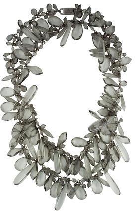 pradaPrada Crystal Multi-Strand Necklace