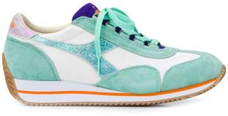 Diadora logo embroidered sneakers