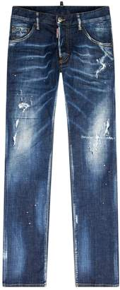 DSQUARED2 Cool Guy Graffiti Wash Jeans