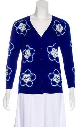 Samantha Sung Cashmere Knit Cardigan