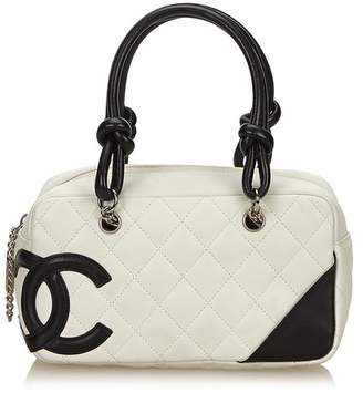 Chanel Vintage Cambon Ligne Bowler