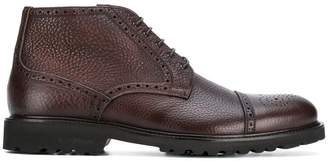 Baldinini lace up brogue boots