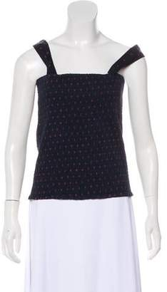 Etoile Isabel Marant Smocked Polka Dot Top w/ Tags