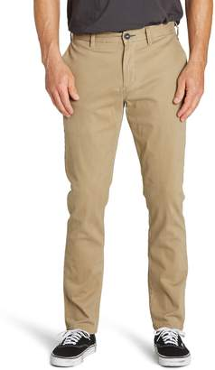 Billabong New Order Slim Straight Chinos