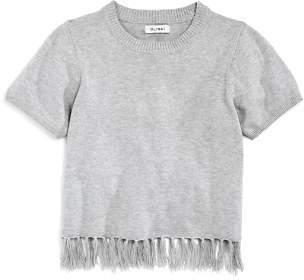 DL1961 Girls' Knit Tasseled Top - Big Kid