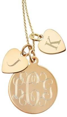 Sarah Chloe Mark And Graham Sonya Layered Charm Necklace