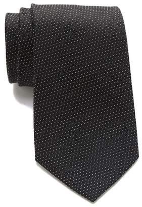 Calvin Klein Honeycomb Pindot Silk Tie