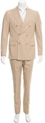 Salvatore Ferragamo Woven Two-Piece Suit