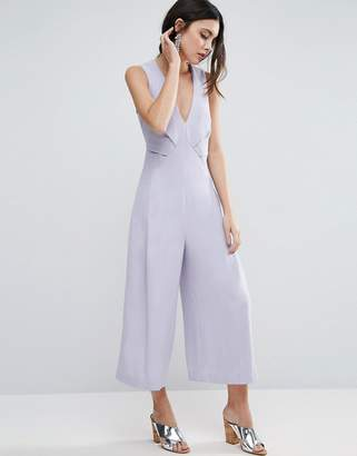 ASOS Jumpsuit with Origami Detail and Culotte Leg $79 thestylecure.com